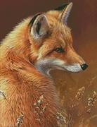 Red Fox Profile (Kit - Chart, Fabric & Threads)