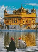 Golden Temple (Kit - Chart, Fabric & Threads)