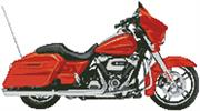 2006 Harley Davidson Street Glide (Kit - Chart, Fabric & Threads)