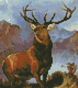 Monarch Of The Glen (Mini) (Kit - Chart, Fabric & Threads)