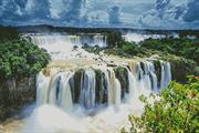 Iguazu Falls Photo (Kit - Chart, Fabric & Threads)