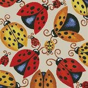 Ladybugs (Kit - Chart, Fabric & Threads)