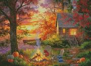 Sunset Serenity (Kit - Chart, Fabric & Threads)