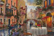 Venice Al Fresco (Kit - Chart, Fabric & Threads)