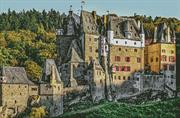 Eltz Castle - Germany (Kit - Chart, Fabric & Threads)
