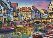 Colmar Canal - France (Kit - Chart, Fabric & Threads)
