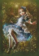 Floating Alice (Kit - Chart, Fabric & Threads)