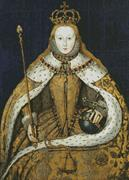 Coronation Of Queen Elizabeth I (Kit - Chart, Fabric & Threads)