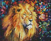 Lion Of Zion (Kit - Chart, Fabric & Threads)