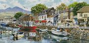 Harbour Painting (Kit - Chart, Fabric & Threads)