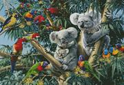 Koala Outback (Kit - Chart, Fabric & Threads)