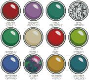 Birthstones (Kit - Chart, Fabric & Threads)