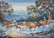 The Man From Snowy River (Kit - Chart, Fabric & Threads)