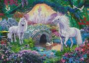 Magical Unicorn Kingdom (Kit - Chart, Fabric & Threads)