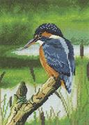 Kingfisher (Kit - Chart, Fabric & Threads)